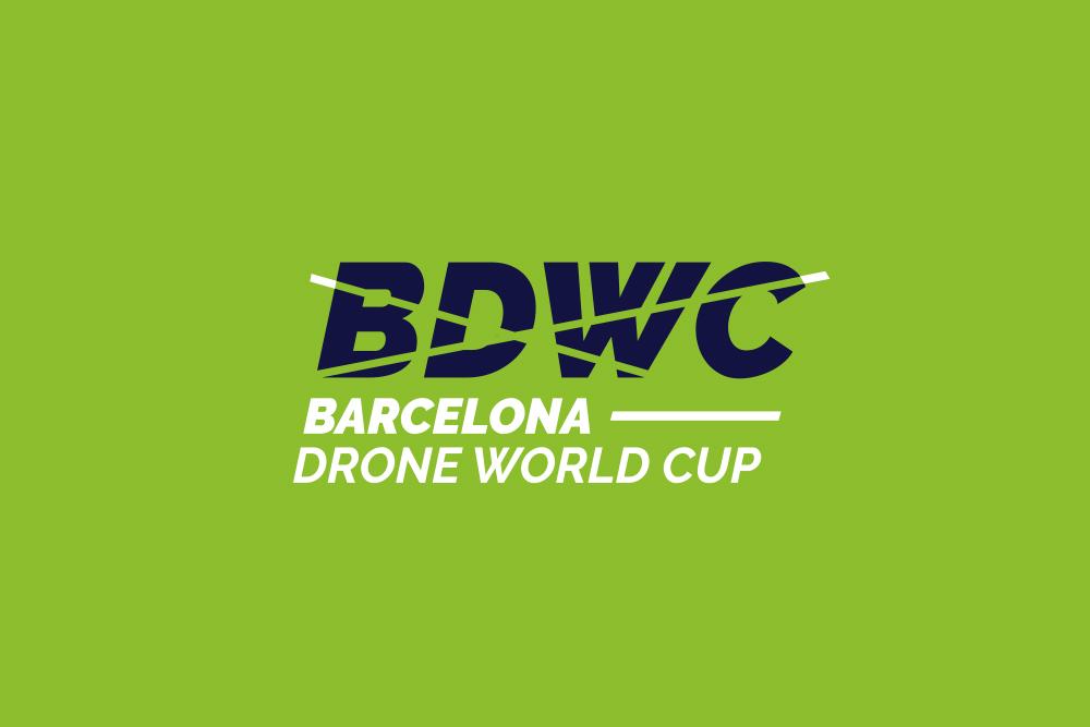 Identitat gràfica per la Barcelona Drone World Cup