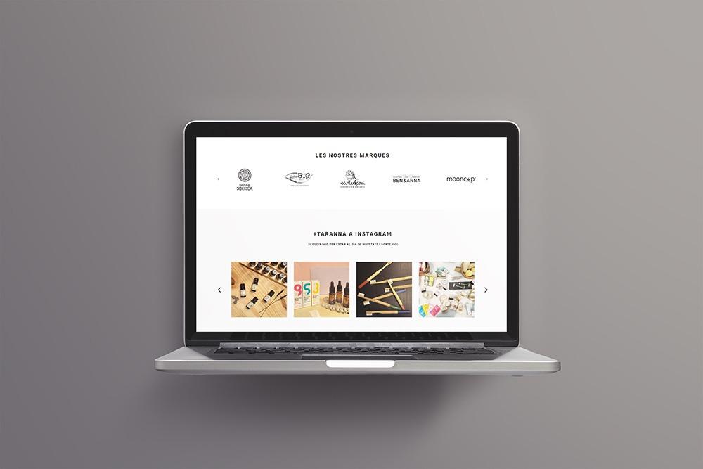 Botiga online Shopify Taranna