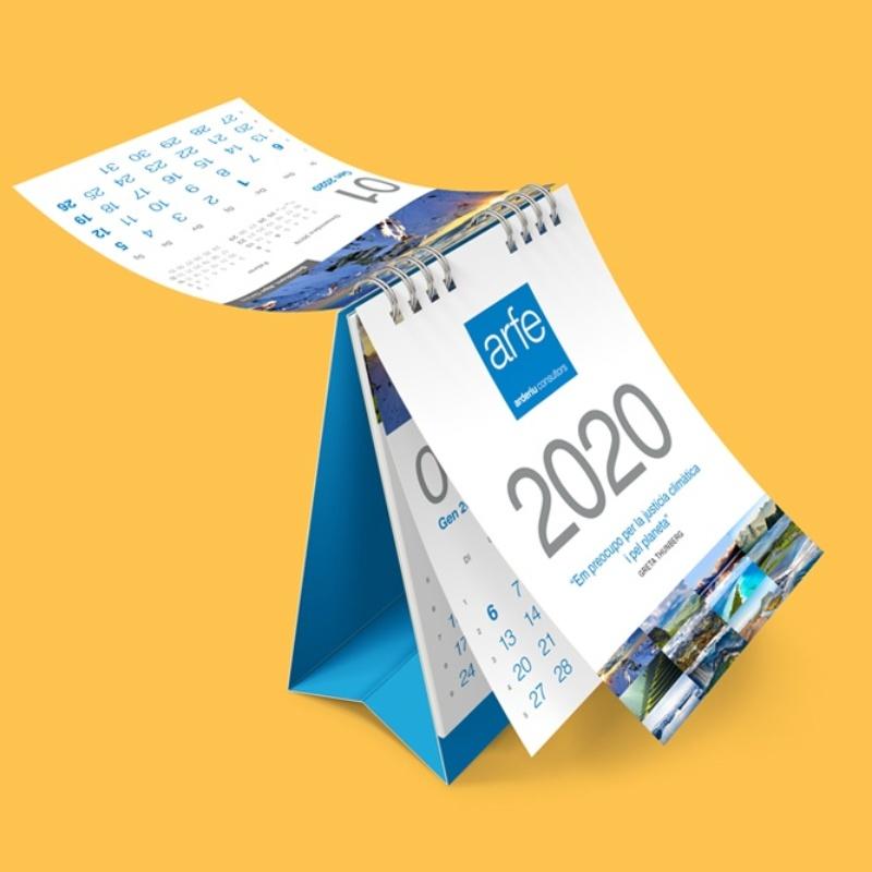 Calendari sobretaula Gestoria Arfe
