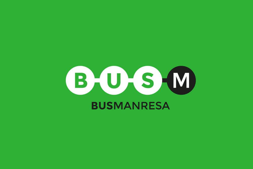 Nou logotip per a Bus Manresa