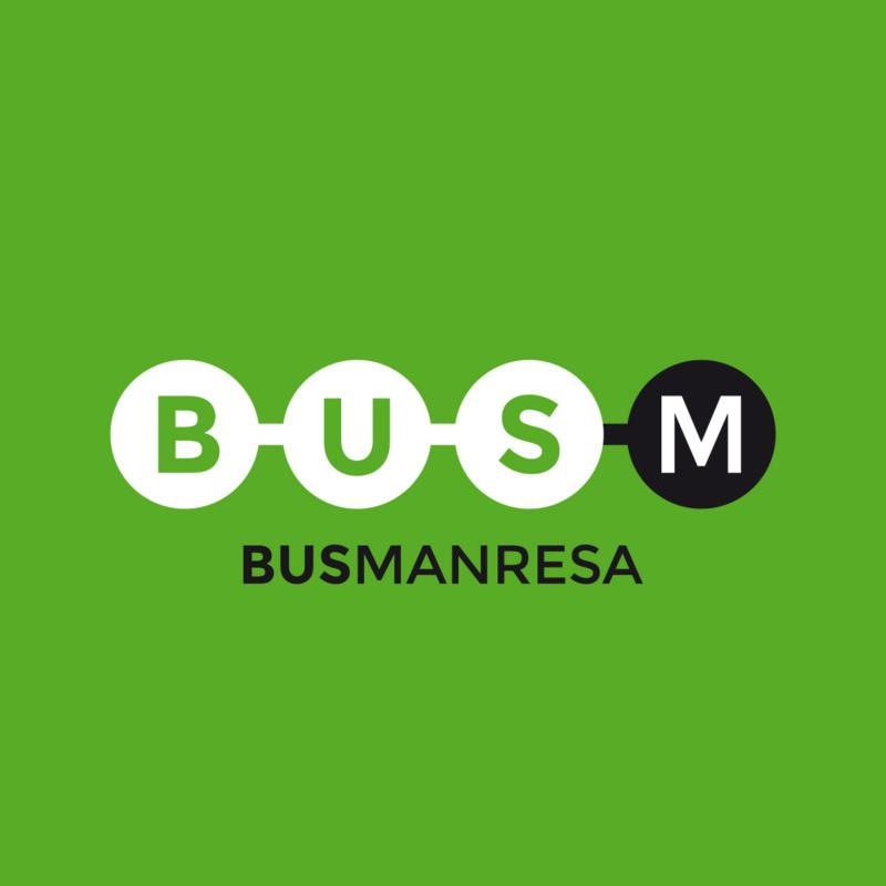 Identitat gràfica Bus Manresa