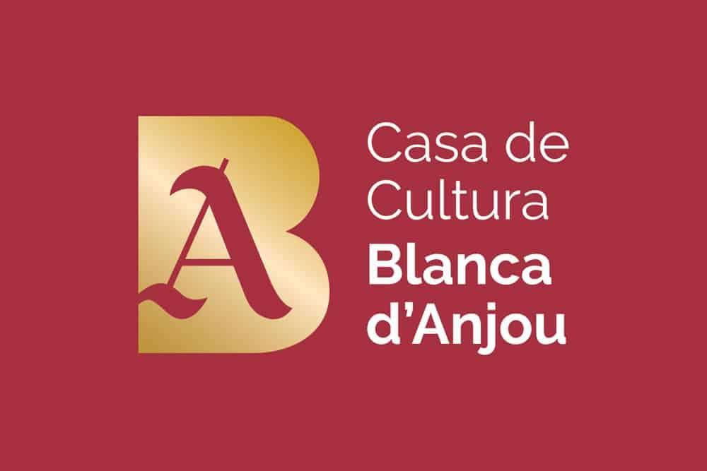 Logotip de la Casa de Cultura Blanca d'Anjou